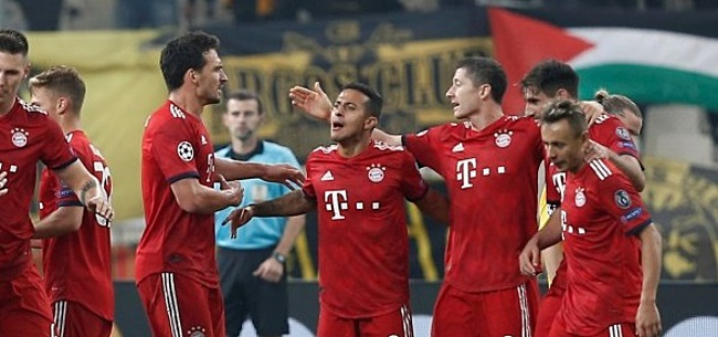 Foto: Flinke opsteker Bayern München voor cruciaal duel met Ajax