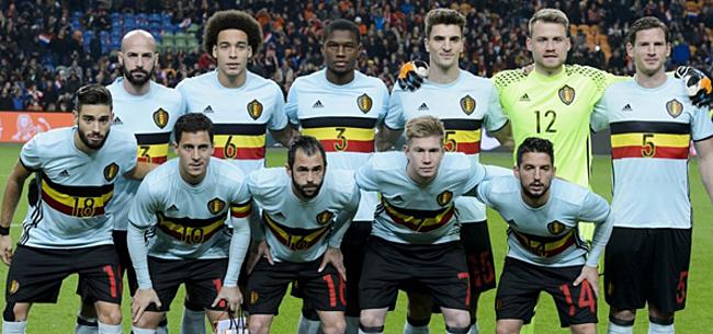 Foto: Officieel: adidas voorziet Duitsers en België van retro WK-shirts