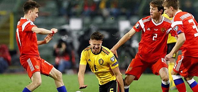 Foto: Ook Noord-Ieren winnen eerste duel, Hazard bepalend bij België