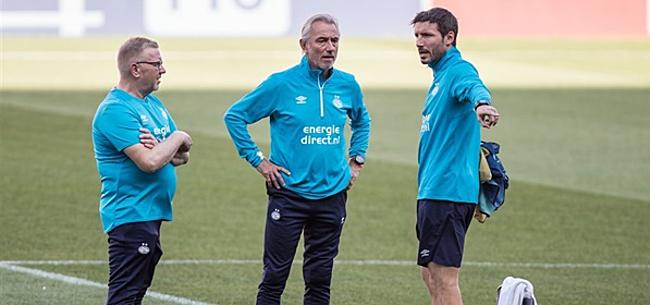 Foto: PSV met Gutí en Malen niet langs Belgen in geheim oefenduel