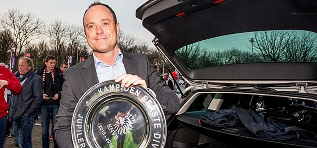 Foto: Van Oostveen reageert op ontslag Blind