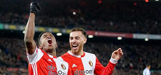 Foto: Jörgensen laat zich eindelijk gelden en bezorgt Feyenoord zege