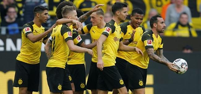 Foto: Bundesliga: Spectaculair doelpuntenfestijn in Dortmund, Schalke 04 wint