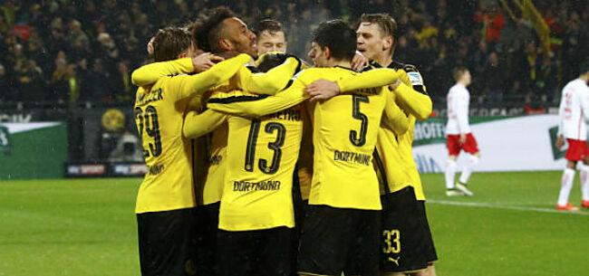 Foto: Opmerkelijk: Dortmund in de problemen vlak voor bekerduel
