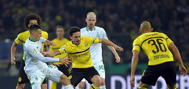 Foto: Klaassen gooit Dortmund na spektakelstuk uit Duitse beker