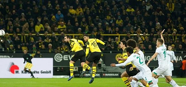 Foto: Dortmund vervolgt titelkoers met zege, Klaassen valt vroeg uit