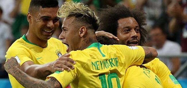 Foto: 'Opvallende wijziging bij Brazilië voor duel tegen Rode Duivels'