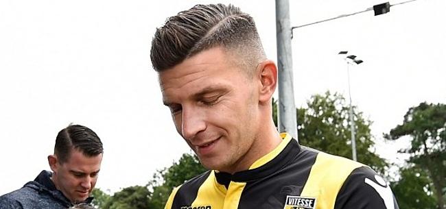 Foto: Vitesse-fan heeft bizarre vraag voor Bryan Linssen