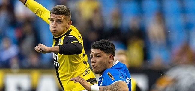 Foto: Linssen helpt Vitesse aan winst na oliedom rood Büttner