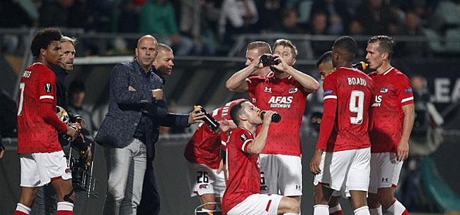Foto: 'Ajax meldt zich officieel bij AZ voor speler, Alkmaarders woest'