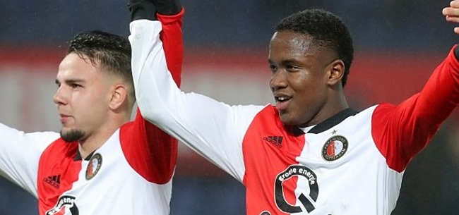 Foto: Feyenoorder erkent: 'Het juichen moet ik nog een beetje oefenen'