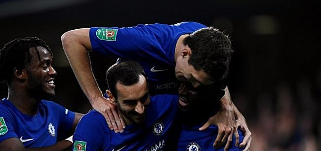 Foto: Chelsea bereikt met ruime overwinning knock-outfase Champions League