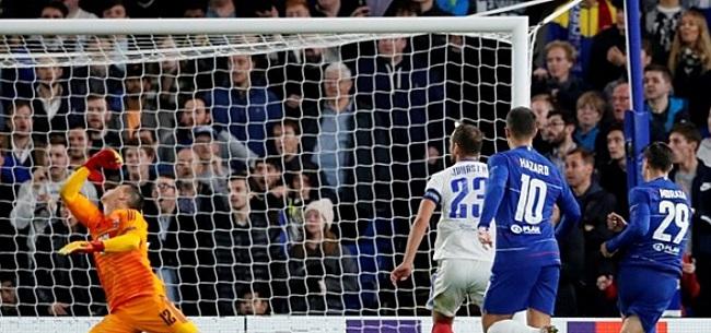 Foto: Chelsea wint moeizaam, pak slaag voor Lazio