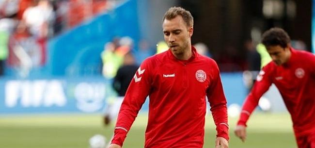 Foto: VIDEO: Eriksen is terug bij Denemarken en schiet gelijk weergaloos raak: 1-0