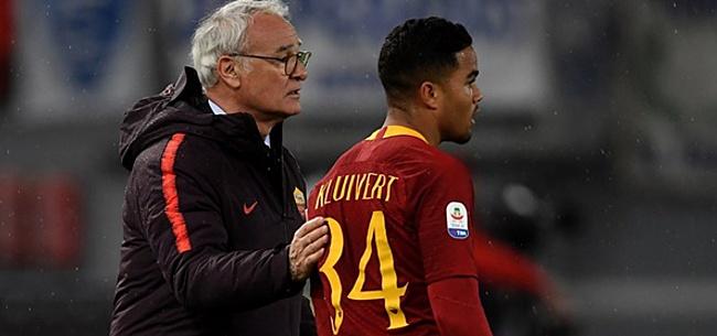 Foto: Kluivert slachtoffer van pijnlijk Ajax-grapje op training Roma