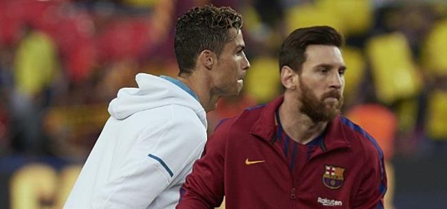 Foto: Messi reageert op uitnodiging Ronaldo voor etentje