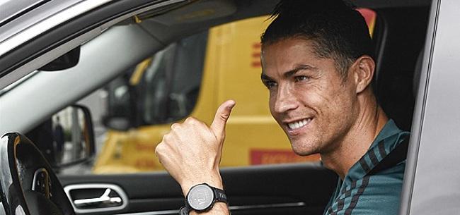 Foto: Trainingsbeest Ronaldo oogst lof met vroege training