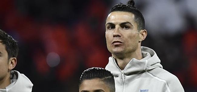 Foto: Ronaldo brengt statement naar buiten:
