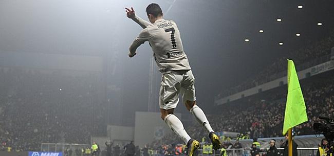 Foto: Ronaldo boekt boekt twintigste competitiezege met Juventus