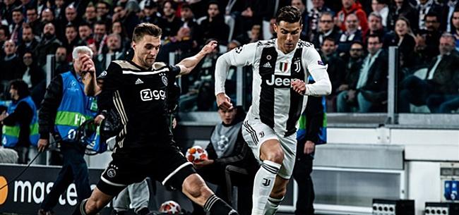 Foto: Ophef over gebaar Ronaldo na afloop van Juventus-Ajax