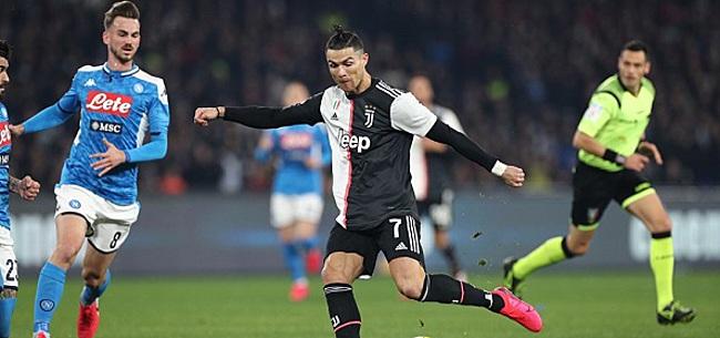 Foto: Ronaldo scoort voor negende keer op rij in Serie A