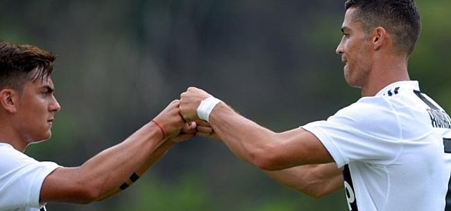 Foto: Dybala straalt dankzij Ronaldo: