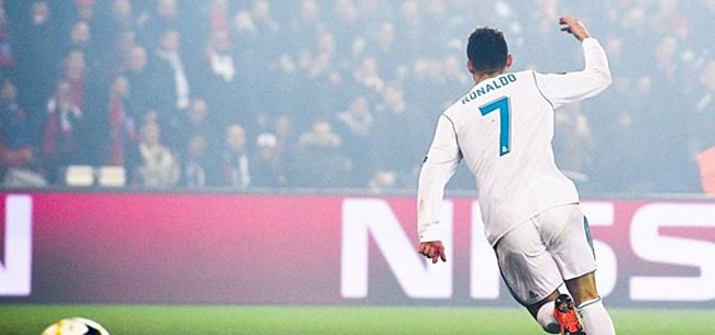 Foto: Cristiano slaat met vuist op tafel: 'Anders vertrek ik bij Real Madrid'