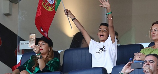 Foto: Bizar: 'Zoontje Cristiano Ronaldo (8) nu al gewild op transfermarkt'