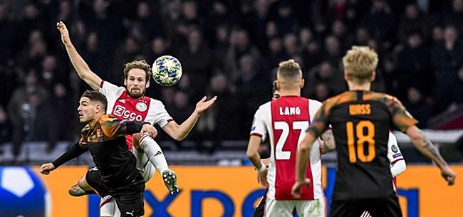 Foto: Ajax-fans woedend na eliminatie: 'Dit is een schande!'