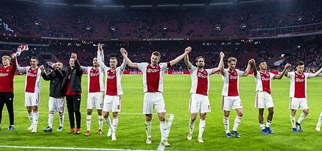 Foto: Ajax domineert: speler, talent én hofleverancier van Elftal van de Maand