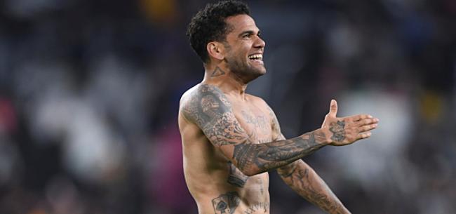 Foto: Alves: beter voor hem als hij naar ons komt