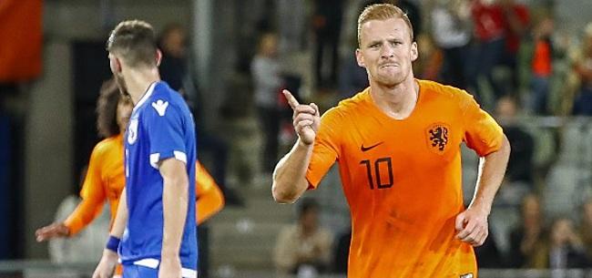 Foto: De Wit van grote waarde voor Jong Oranje: