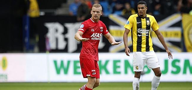Foto: De Wit: 'Eigenlijk lijken AZ en Ajax heel erg op elkaar'
