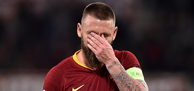 Foto: AS Roma zwaait clubicoon Daniele De Rossi uit