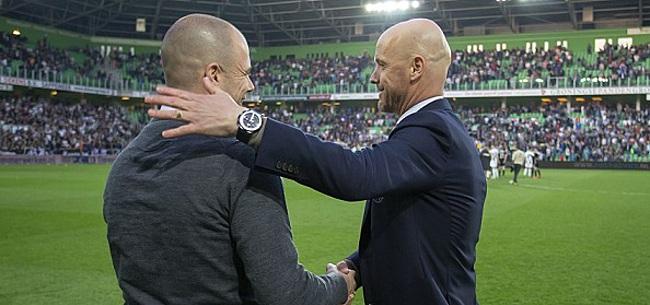 Foto: Buijs: 'Wat je ook bedenkt, Ajax kan zó goed voetballen'