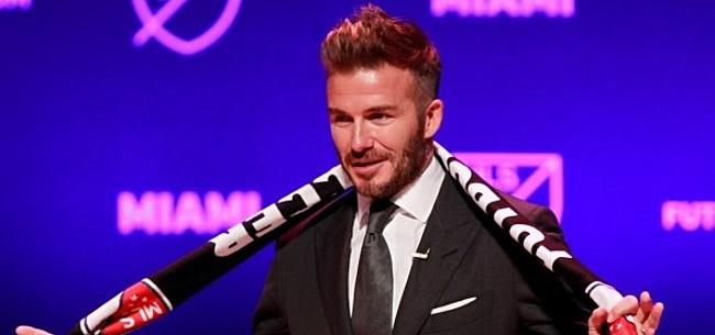 Foto: 'Beckham denkt aan absolute stunt bij MLS-nieuwkomer'
