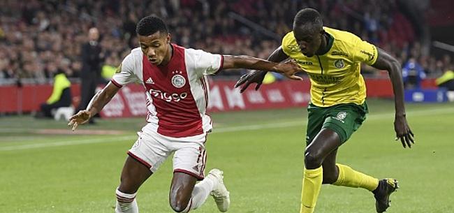 Foto: Neres mogelijk slachtoffer bij Ajax