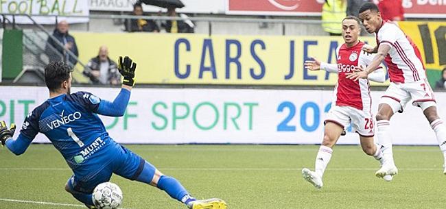 Foto: Grote vraagtekens bij Ajax-treffer: