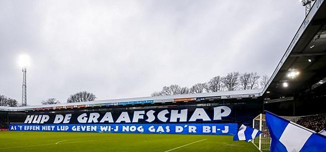 Foto: De Graafschap bang voor belletje KNVB: