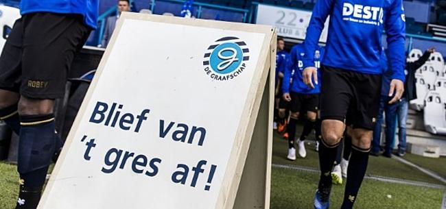 Foto: Tweede burgemeester 'protesteert' tegen KNVB-plan