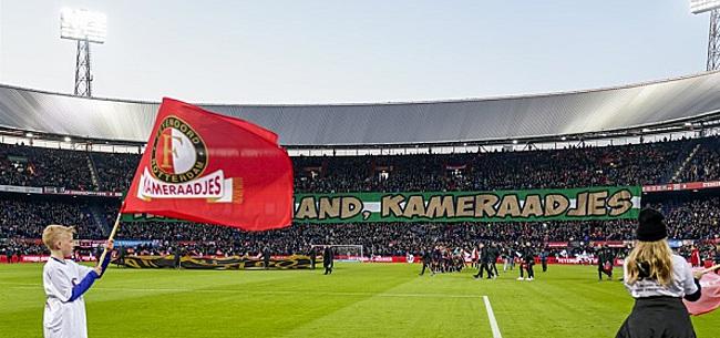 Foto: Feyenoord slaat grote slag en houdt doelpuntenmachine uit Engelse handen