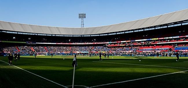 Foto: 'Feyenoord-bouwvakkers mogen niet meer werken in Amsterdam'