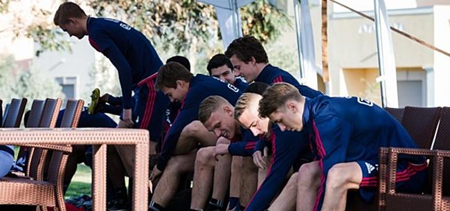 Foto: Ajax-talent baalt: 'Dit is een van de lastigste seizoenen uit mijn loopbaan'