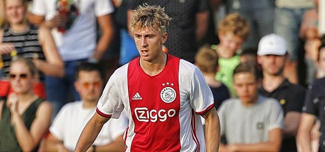 Foto: Johnsen 'nog niet klaar': 'De concurrentiestrijd bij Ajax is alleen te groot'