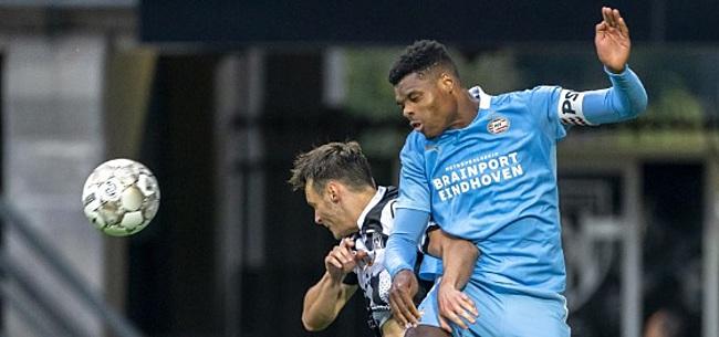 Foto: 'Spelers van PSV begonnen steeds gefrustreerder tegen elkaar te praten'