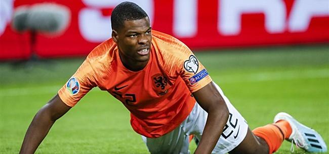 Foto: Oranje-international moet wennen aan kritiek: