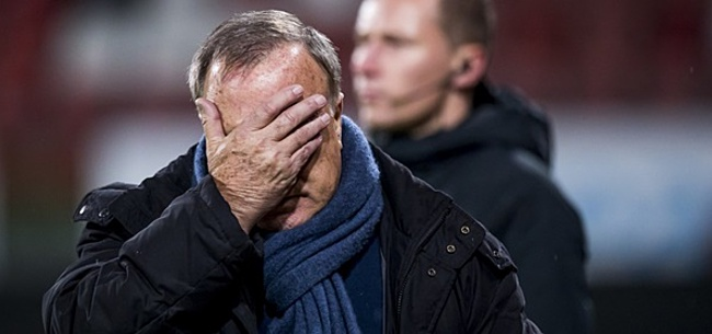Foto: Stevige kritiek op Advocaat bij FC Utrecht: 'Hij krijgt maar geen kans'