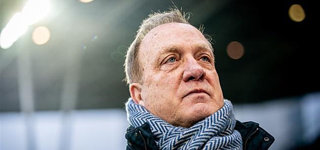 Foto: 'Tegenslag voor Advocaat: Feyenoorder blijft bij standpunt'