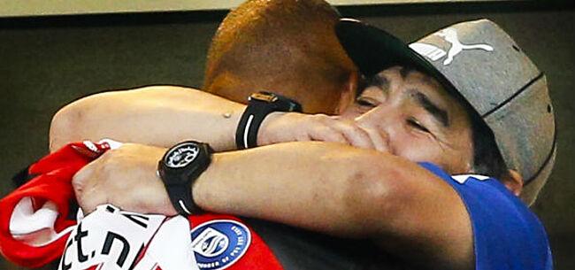 Foto: Maradona fulmineert: