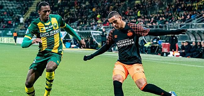 Foto: PSV wacht onderzoek af, ADO-fans ontkennen bizarre tekst